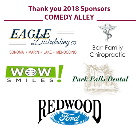Comedy Alley 2018 Sponsors