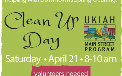 Clean Up Day April 21, 2018