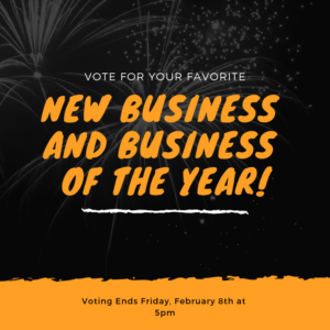 New Business of the Year & Business of the Year from 2018